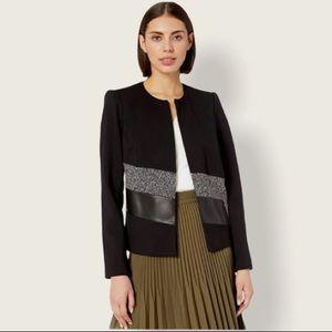 Calvin Klein Blazer black and tweed size 2